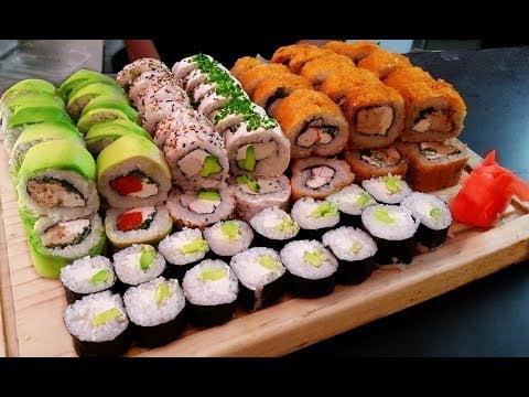 Rohen Fisch Essen