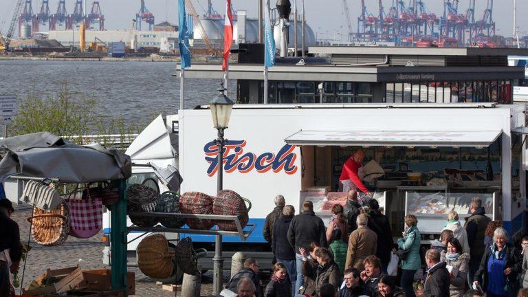 Fischmarkt Hamburg Offen