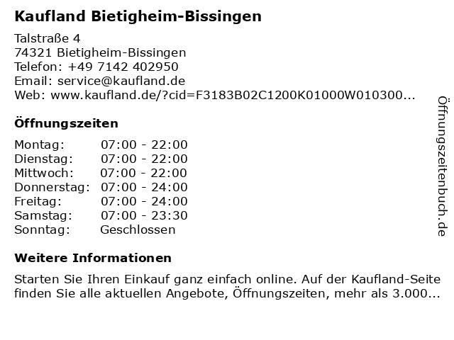 Kaufland Bietigheim-Bissingen Bietigheim-Bissingen